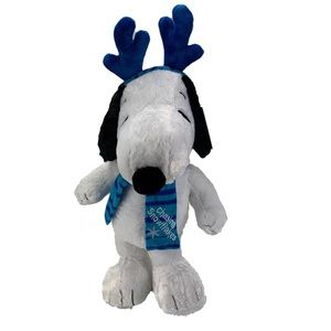 Snoopy Plush Standing Holiday Greeter Decoration